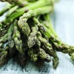 Asparagus, a bunch of fresh asparagus
