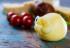 Traditional Italian Hard Cheese Provolone Of Caciocavallo, White
